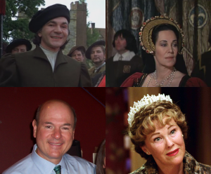 Is it just me or do John Colicos (who plays Thomas Cromwell) and Katharine Blake (who plays Elizabeth Boleyn) look just like Larry Miller and Catherine O'Hara?