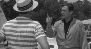 Gregory Peck, expert hat-spotter.