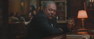 Presumably Mark Addy was cast as Robert Baratheon in Game of Thrones on the basis of his believable drinking here.