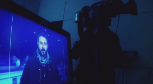 Jeremy Scahill is so self-obsessed that he insisted the documentary include a shot of himself looking at himself on a TV screen while being filmed. I just hope the DVD release includes, as a special feature, a clip of him watching this scene.