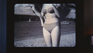 Fittingly, a film about voyeurism contains cinema's first cameltoe.