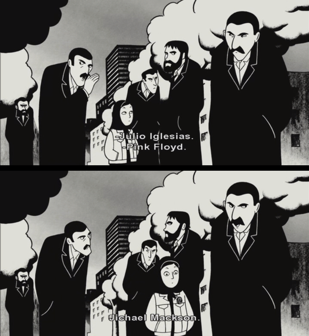 Review Persepolis Movies And Bacon