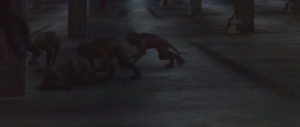 Shitty 2004 CGI monkeys in a low-budget 1971 sci-fi film? This, George Lucas, is why so many people hate you.