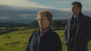 Judi Dench and Steve Coogan in... Law & Order: Irish Adoption Unit.
