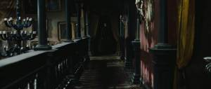 Note the pictures on the wall – they were stolen from the walls of Hogwarts to act as a comforter to Daniel Radcliffe in the hope that his acting would improve. Didn't work, but worth a go.